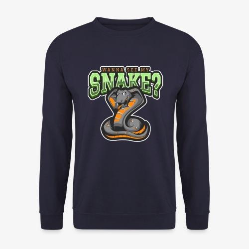 Wanna see my Snake III - Unisex svetaripaita