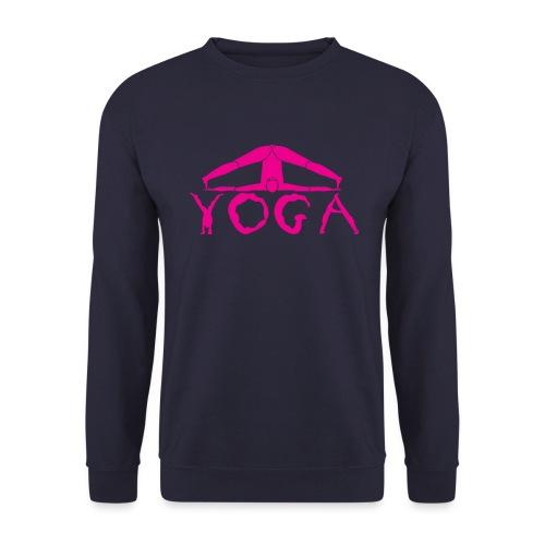 yoga yogi viola spiritualità amore namaste sport - Felpa unisex
