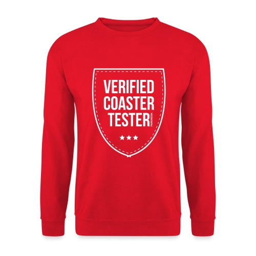 Badge CoasterTester vérifié - Sweat-shirt Unisexe