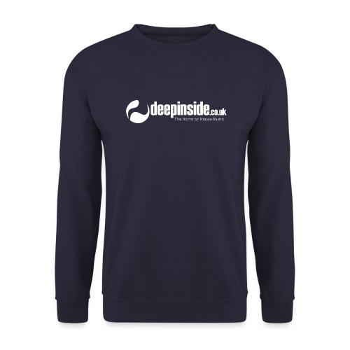 DEEPINSIDE The home of House-Music (White) - Unisex Sweatshirt