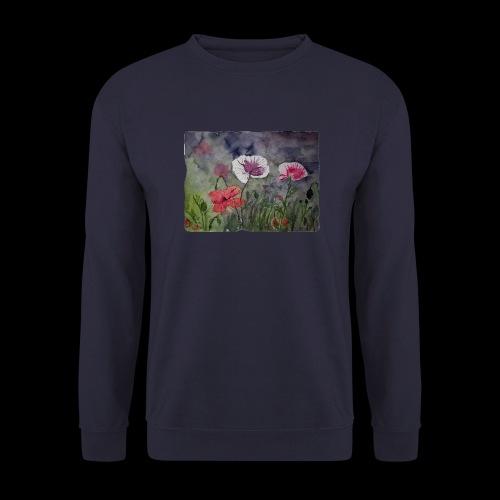 Mohnblume - Unisex Pullover