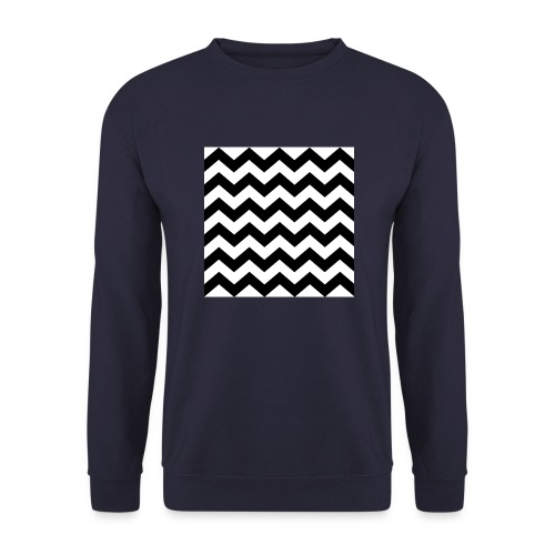 zigzag png - Sweat-shirt Unisexe