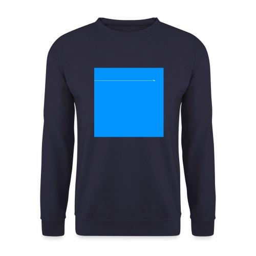 sklyline blue version - Sweat-shirt Unisexe