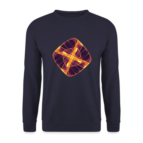 Chakra Mandala Mantra OM Chaos Star Circle 12255i - Unisex Sweatshirt