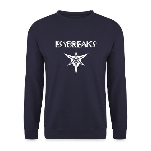 Psybreaks visuel 1 - text - white color - Sweat-shirt Unisexe