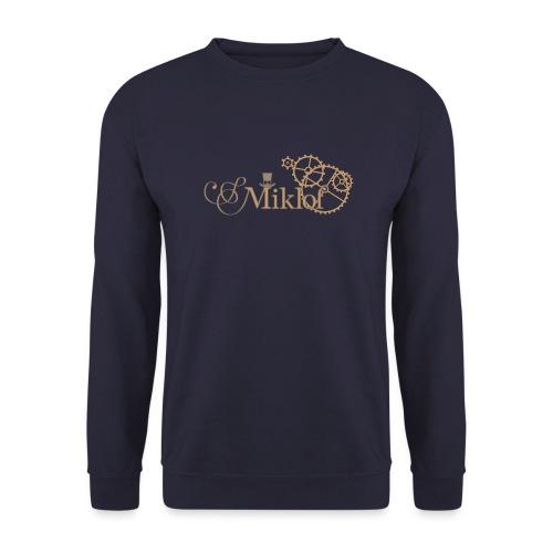 miklof logo gold outlined 3000px - Unisex Sweatshirt