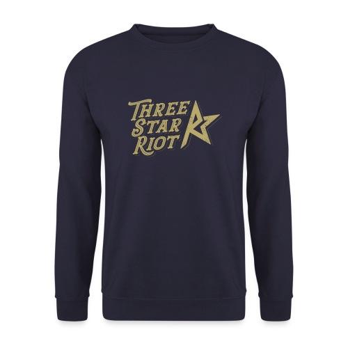 Three Star Riot logo väri - Unisex svetaripaita