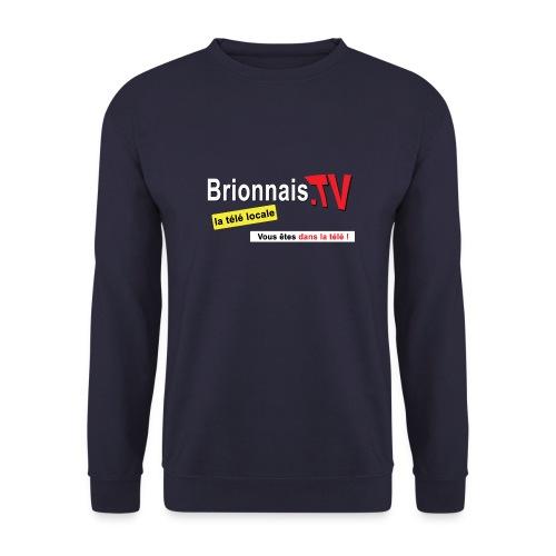 BTV logo shirt dos - Sweat-shirt Unisexe