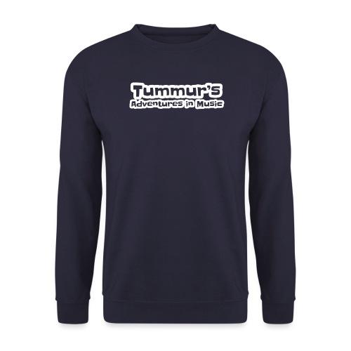 TAim Full transparent white stroke - Unisex Sweatshirt