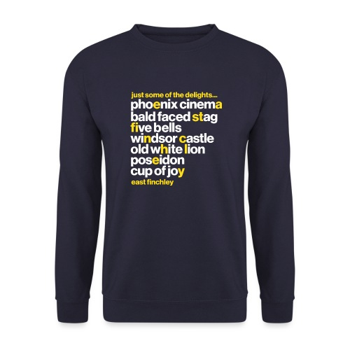 Just some of the delights of East Finchley - Unisex Sweatshirt