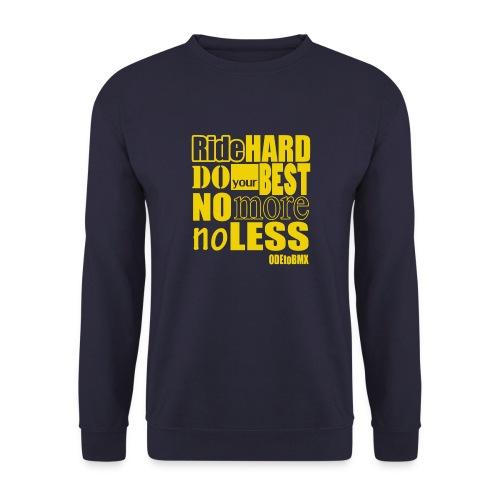 ridehard yellow - Unisex Sweatshirt