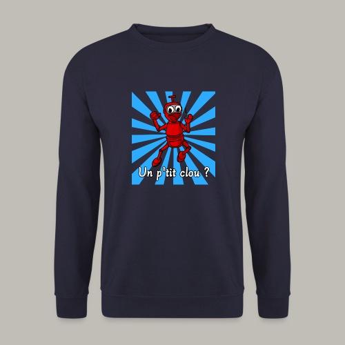 Back to 80's blue - Sweat-shirt Unisexe