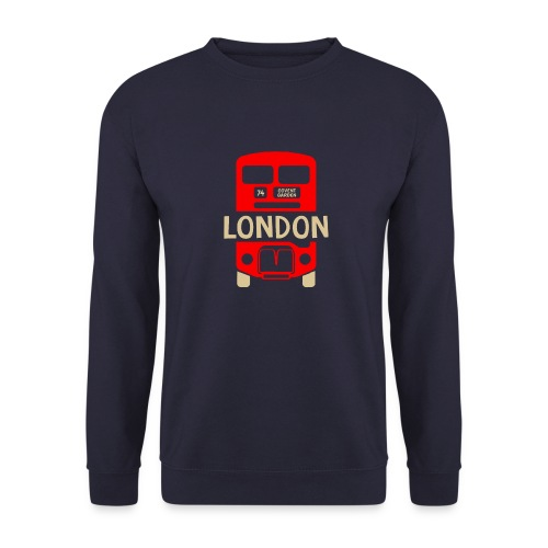 London Bus Roter Doppeldecker London Fan Souvenir - Unisex Pullover