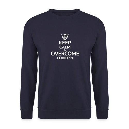 Keep calm and overcome - Bluza unisex