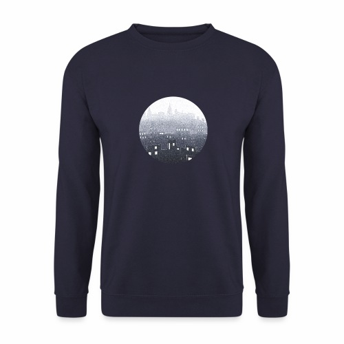 city hall snow blue - Sweat-shirt Unisexe