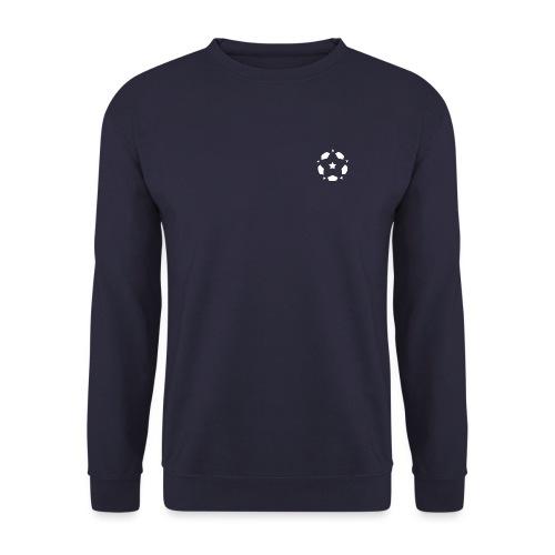 The Spirit of Football Logo White - Unisex Sweatshirt