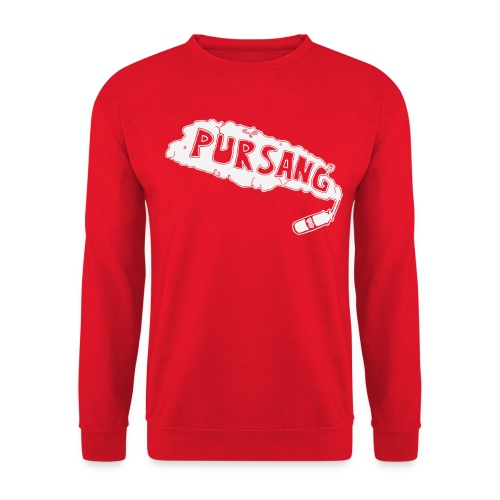 PUR SANG (White) - Unisex sweater