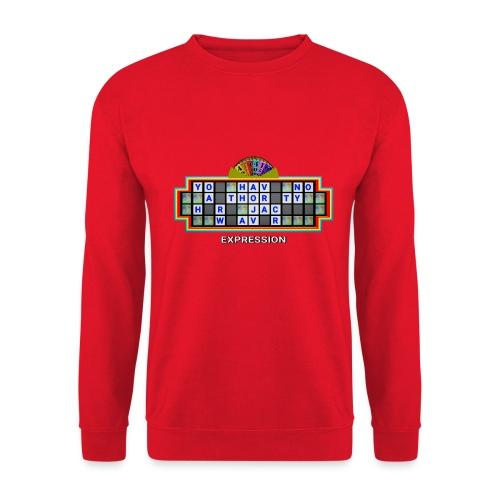 Jackie Weaver Wheel of Fortune - Unisex Sweatshirt