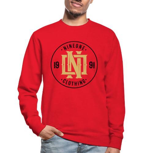 Nineone Monogram NO 02 black - Unisex Pullover