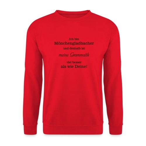 Gladbacher Grammatik - Unisex Pullover