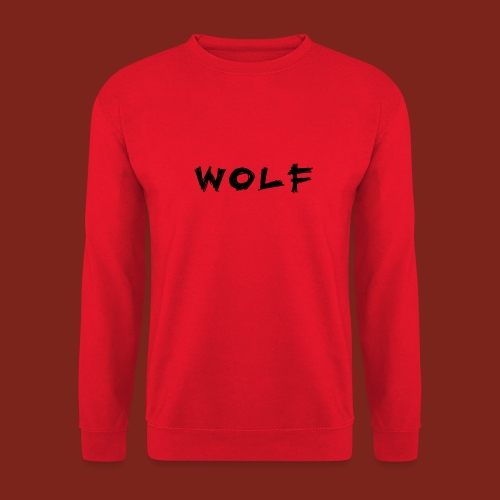 Wolf Font png - Unisex sweater