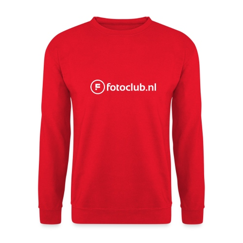 Logo Wit Fotoclublnl - Unisex sweater