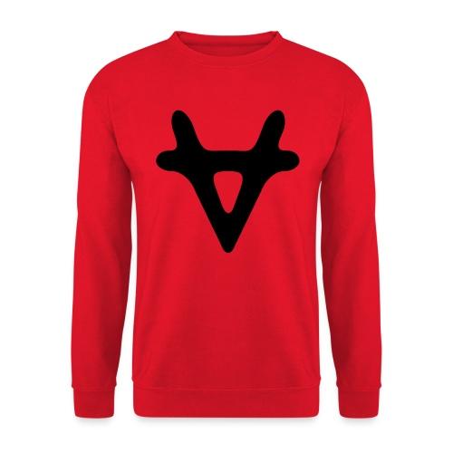 VAPORIZED LOGO BLACK - Unisex Sweatshirt