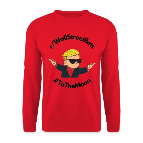 Wallstreetbets - to the moon - Unisex sweater