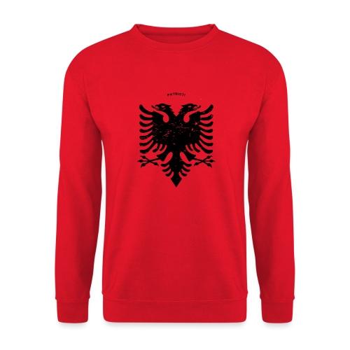 Albanischer Adler im Vintage Look - Patrioti - Unisex Pullover