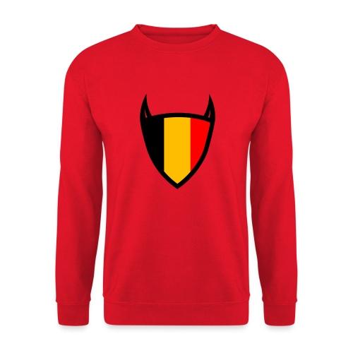 Diable du bouclier national belge - Sweat-shirt Unisexe