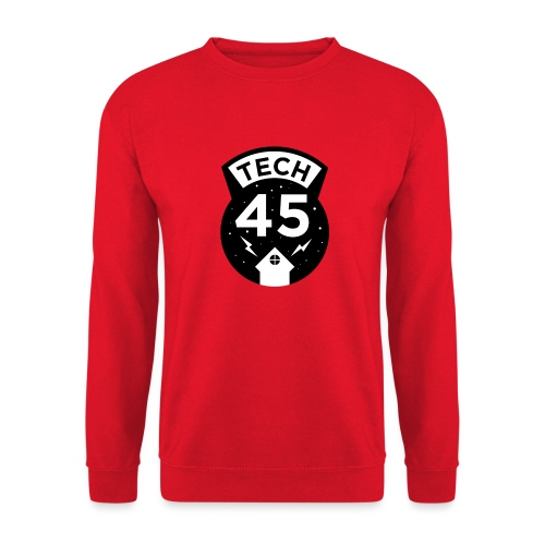 Tech45 logo - Unisex sweater