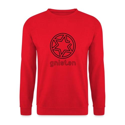 Gnisten Ry (sort tryk - vertikalt) - Unisex sweater