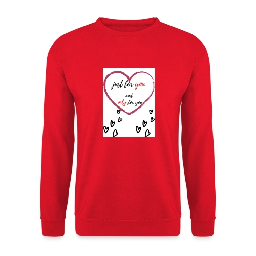 just for lovers design - Unisex sweater