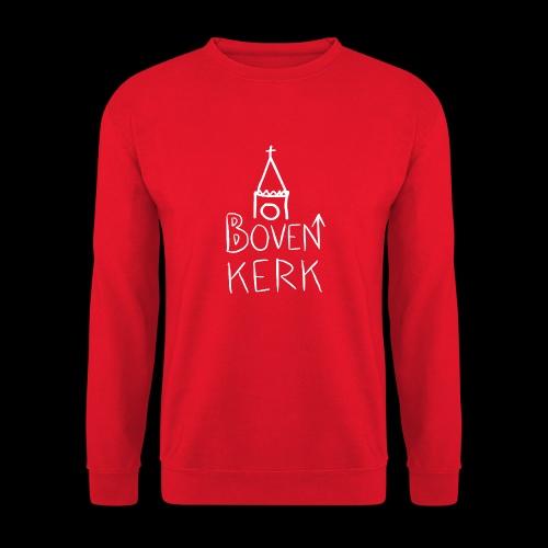 Bovenkerk wit - Unisex sweater
