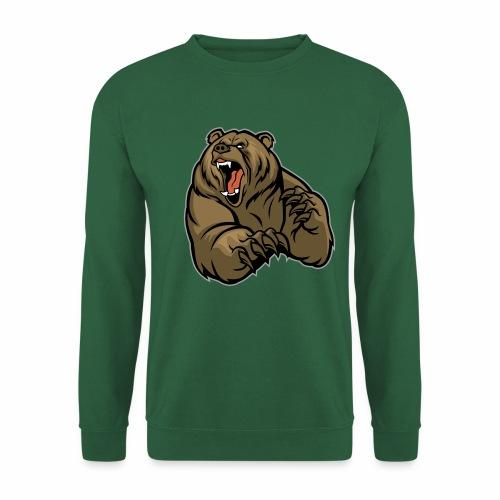 méchant grizzli - Sweat-shirt Unisexe