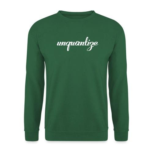 unquantize white logo - Unisex Sweatshirt