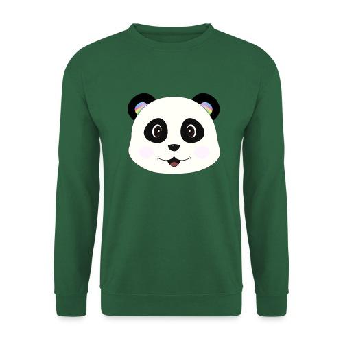 panda rainbow - Sudadera unisex