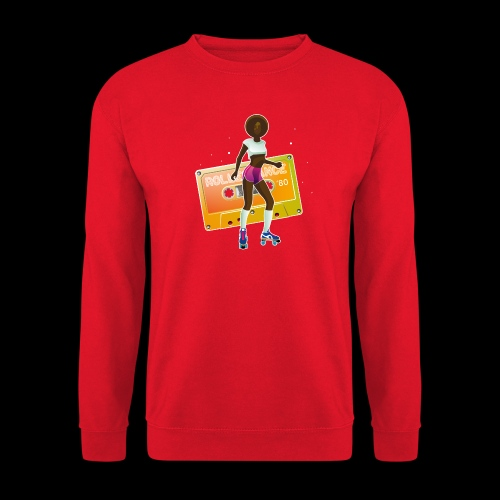 Rollerdancer girl - Sweat-shirt Unisexe
