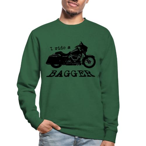 I ride a bagger - sort - Unisex sweater