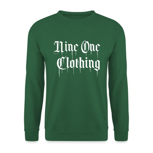 Nineone Classic Style Font 01 white - Unisex Pullover
