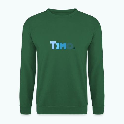 Timo in blauwe tinten - Unisex sweater