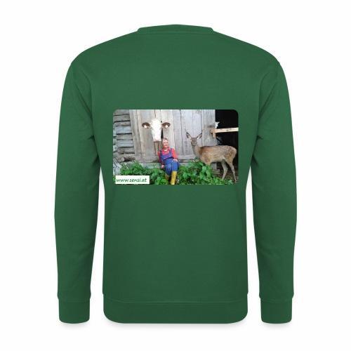 SenSi ♥ Hilfsprojekt für Kühe - Unisex Pullover