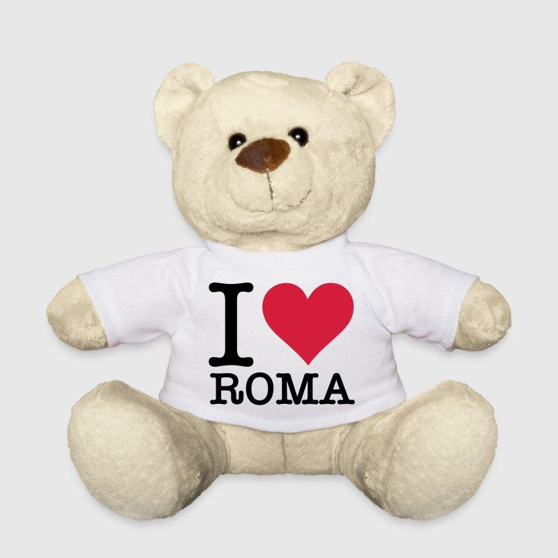 Me encanta Roma - Osito de peluche
