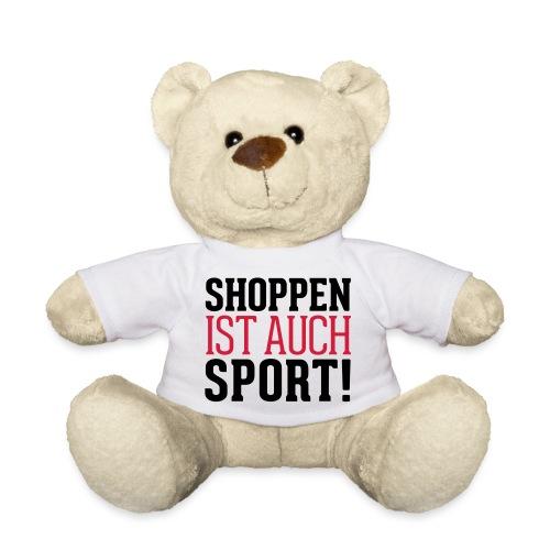 Shoppen ist auch Sport! - Teddy