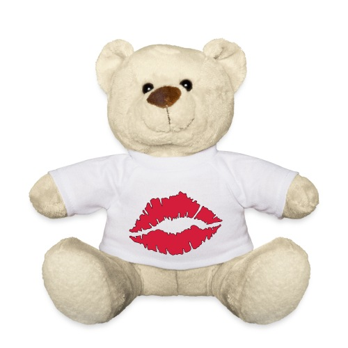 Lipstick Kisses - Teddy Bear