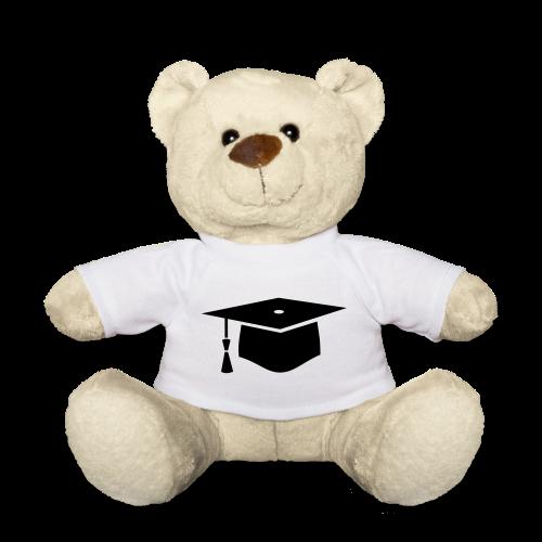 einfacher Doktorhut - Geschenk zur Doktorarbeit - Teddy