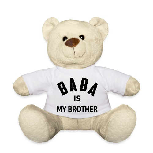 Baba is my brother - Nounours