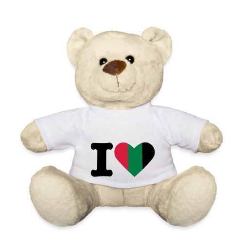 hartjeroodzwartgroen - Teddy