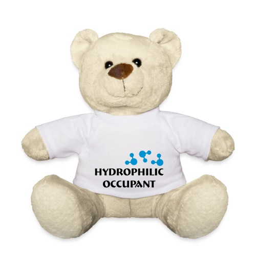 Hydrophilic Occupant (2 colour vector graphic) - Teddy Bear