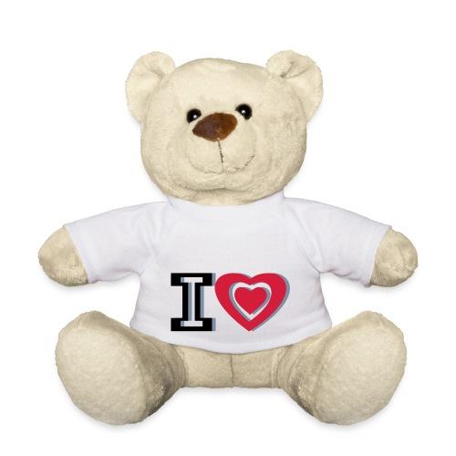 I LOVE I HEART - Teddy Bear